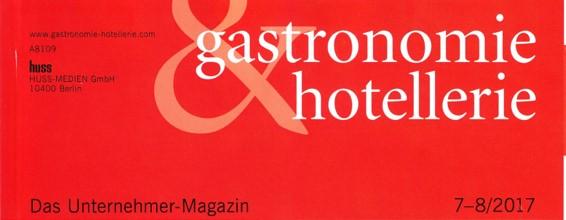 Interview in gastronomie&hotellerie